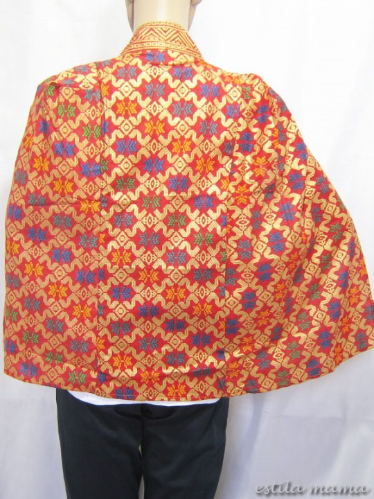 B2513 gb3 bolero batik merah