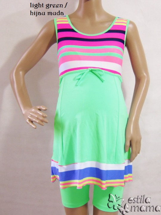 m0251-salur-hijau-gb1-baju-renang-hamil
