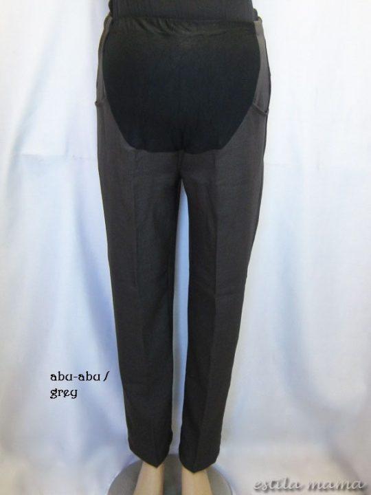 M77109 gb6 celana hamil pjg abu-abu