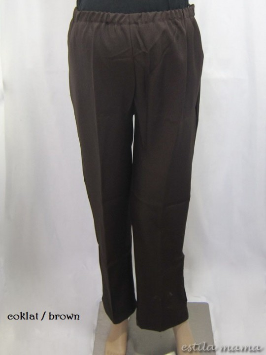 M77125 gb1 celana hamil coklat