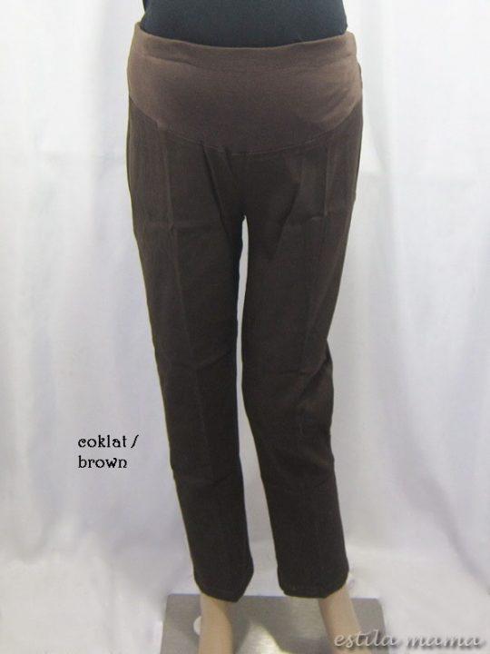 M7786 gb1 celana hamil coklat