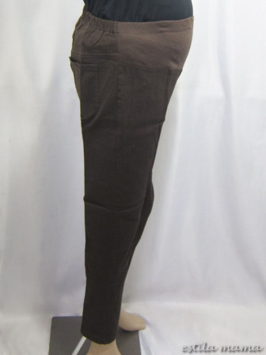 M7786 gb2 celana hamil coklat