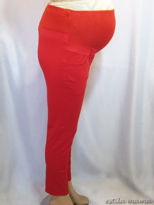 M7792 gb2 celana hamil pjg merah