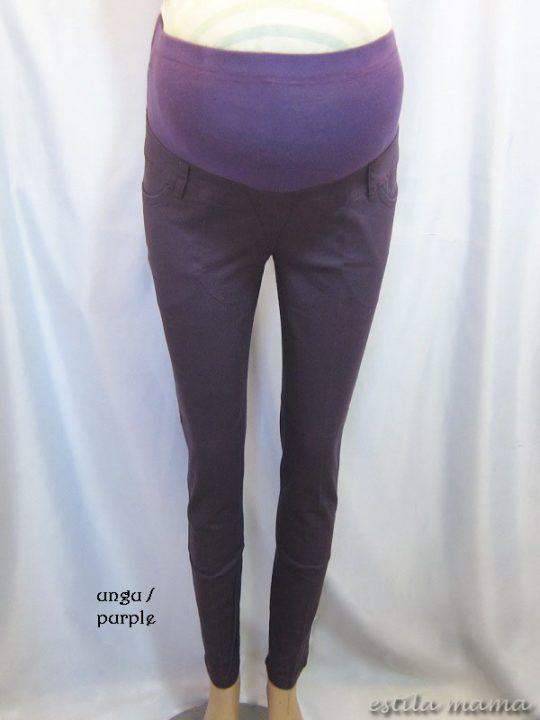 M7792 gb5 celana hamil pjg ungu