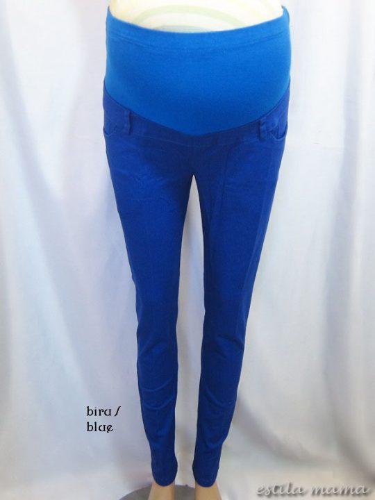 M7792 gb6 celana hamil pjg biru