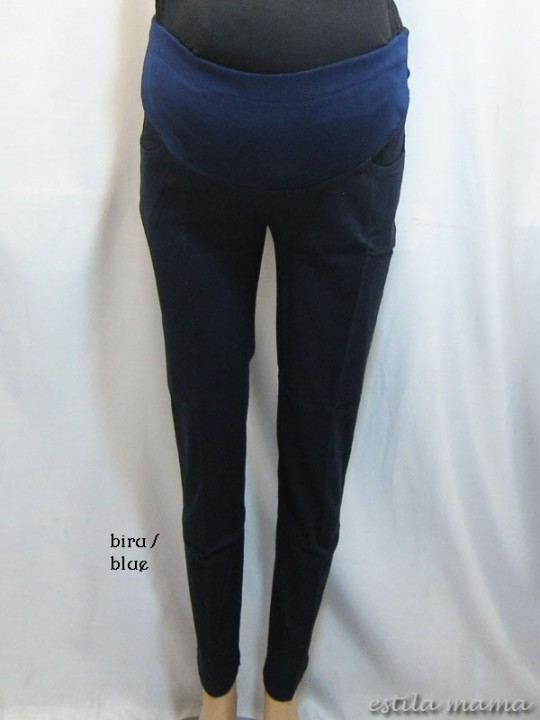 M7793 gb4 celana hamil pjg biru