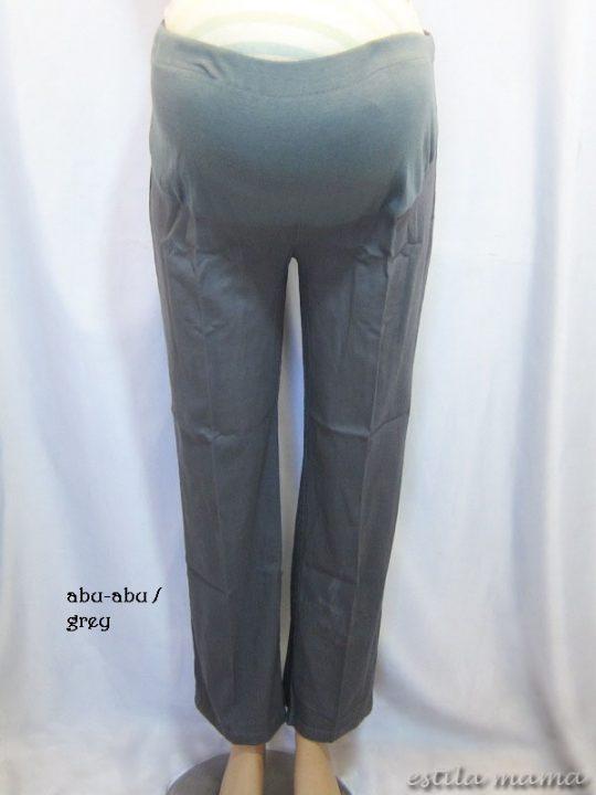 M7794 gb1 celana hamil pjg abu-abu