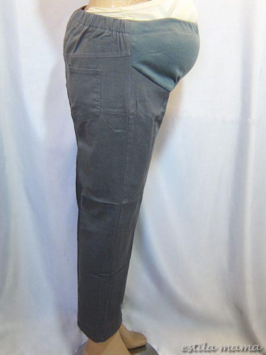 M7794 gb2 celana hamil pjg abu-abu
