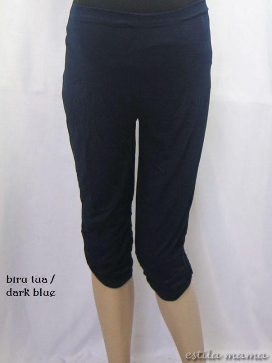 M8606 gb5 legging hamil pendek biru tua