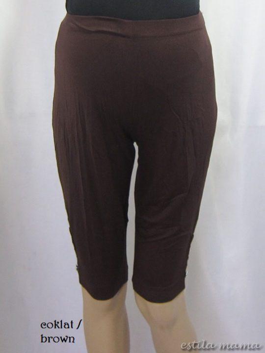 M8607 gb5 legging hamil coklat