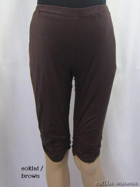M8609 gb1 legging hamil coklat