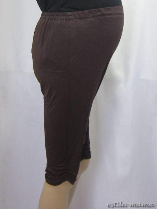M8609 gb2 legging hamil coklat