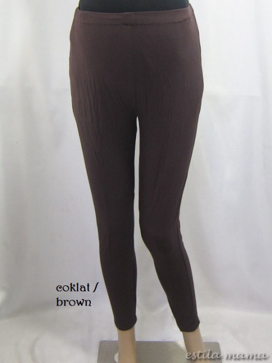 M8701 gb4 legging hami coklat