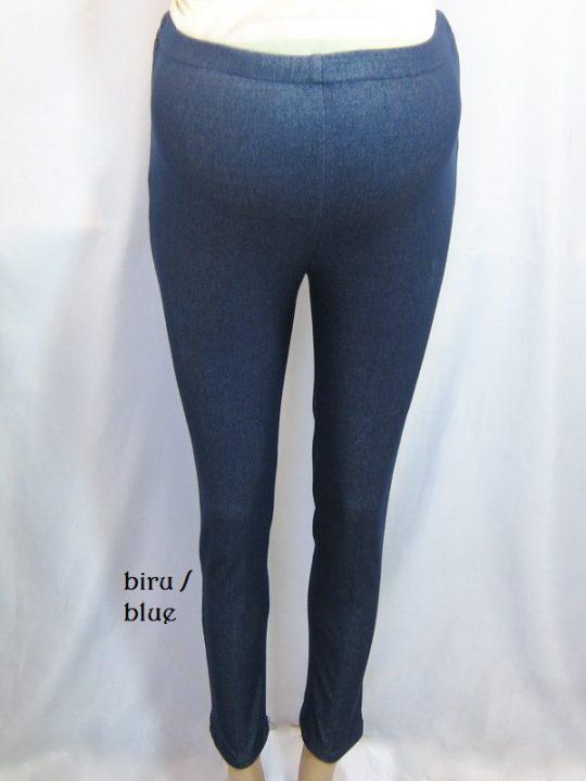 M8717 gb1 legging hamil pjg biru