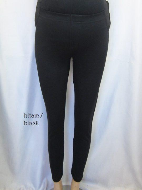 M8722 gb6 legging hamil hitam