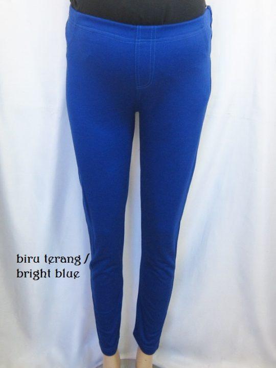 M8722 gb6 legging hamil pjg biru terang