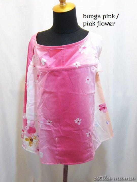 R0153 gb1 apron bunga pink