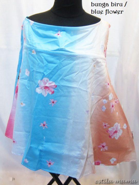R0153 gb5 apron bunga biru