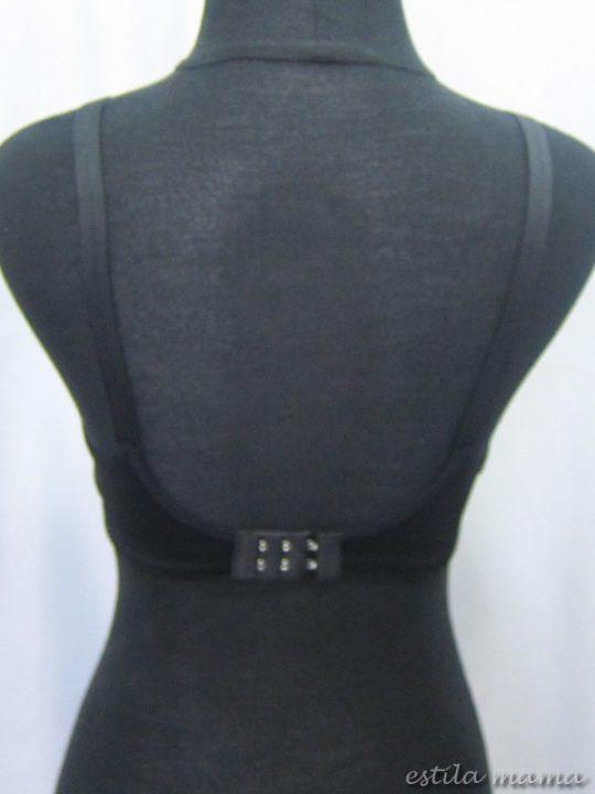R0244 gb3 bra menyusui hitam