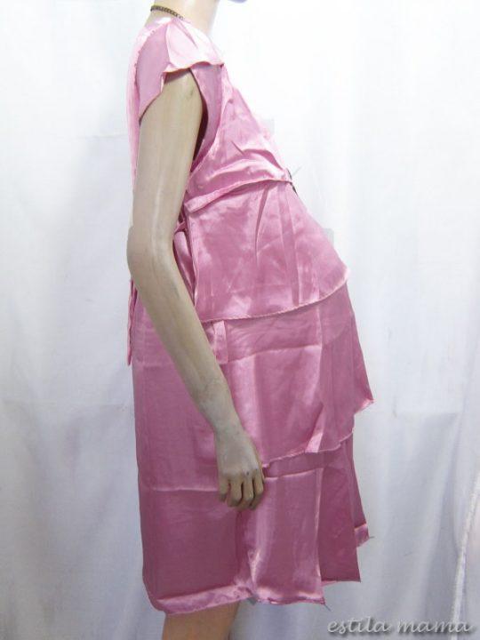 R3488 gb2 dres menyusui 2in1 pink