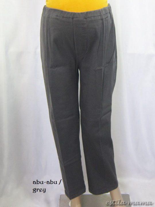 M77132 gb1 celana hamil panjang abu-abu