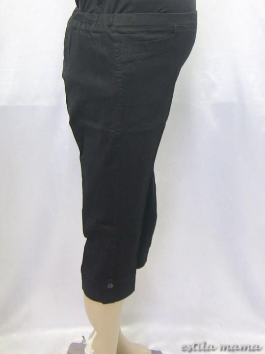 M7691 gb2 celana hamil pendek hitam