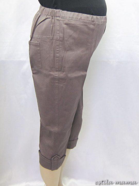 M7692 gb2 celana hamil pendekabu-abu