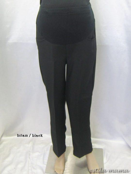 M77124 gb1 celana hamil panjang hitam