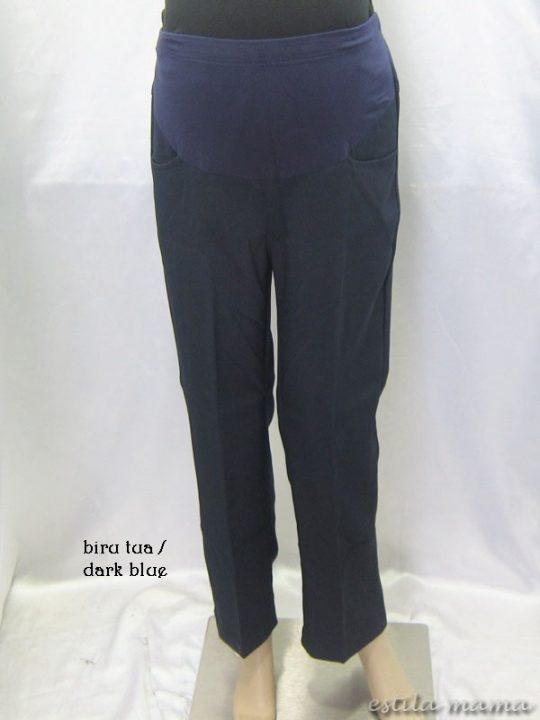 M77124 gb6 celana hamil panjang biru tua