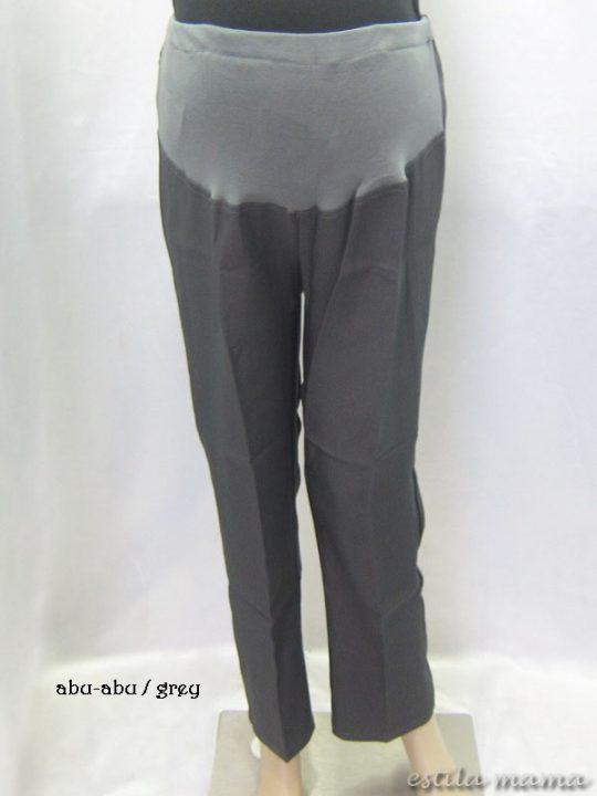 M77133 gb1 celana hamil panjang abu-abu