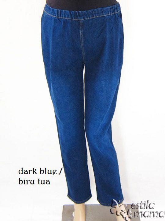 M77118 gb1 celana hamil pjg biru tua