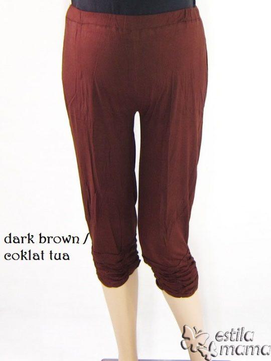 M8601 gb1 legging hamil pdk coklat tua