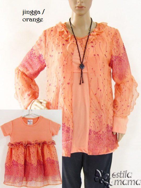 R25113C gb1 baju hamil menyusui lgn pjg orange couple