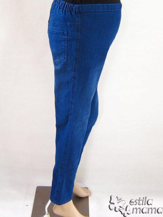 M77140 gb2 celana hamil pjg jeans biru