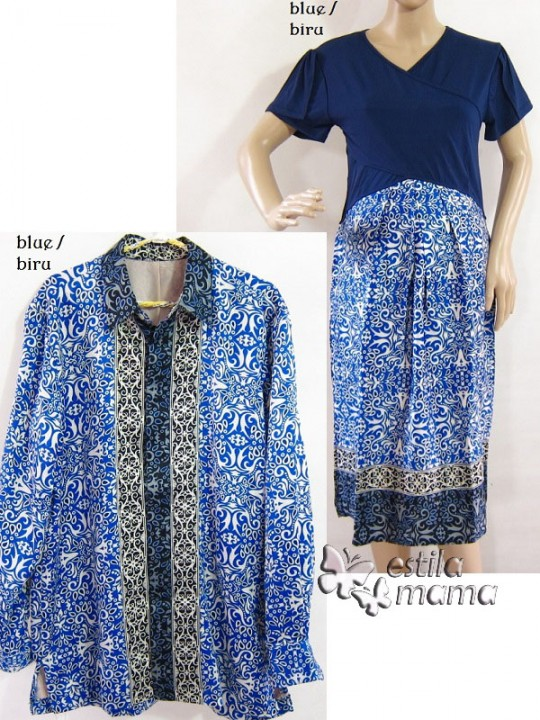 r34124-gb1-dress-hamil-menyusui-lgn-pdk-biru-couple