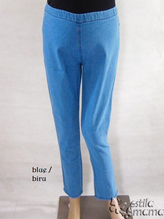 M77152 gb1 celana hamil panjang biru