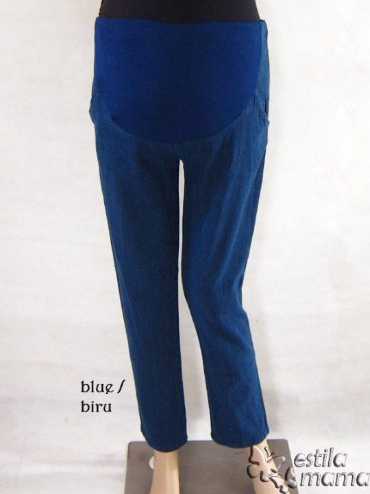 M77153 gb1 celana hamil panjang biru