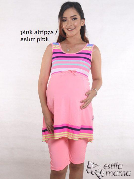M0251 pink gb1 baju renang hamil