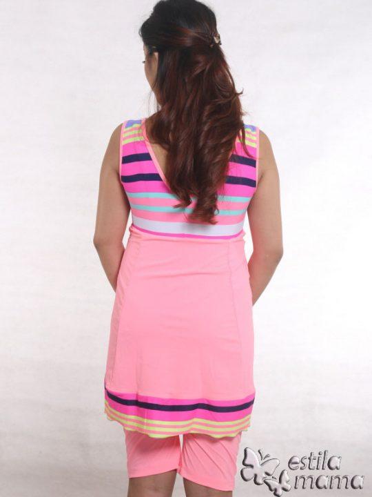 M0251 pink gb3 baju renang hamil