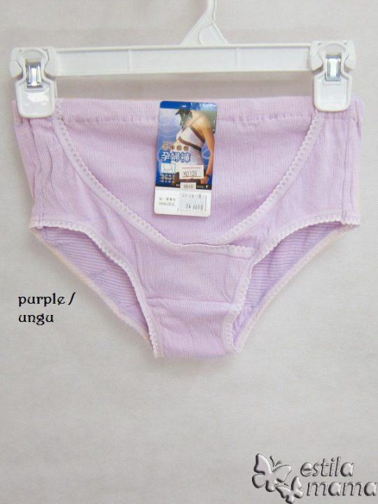 M0108 gb1 celana dalam hamil ungu