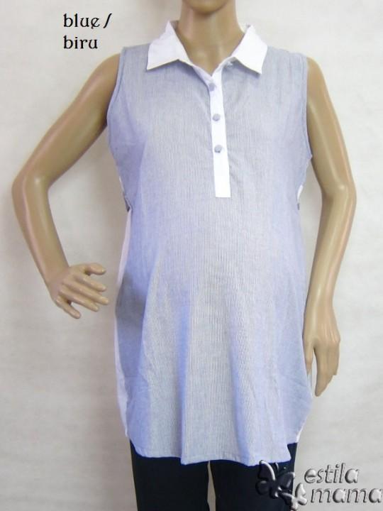 M2360 gb5 baju hamil tnp lgn biru