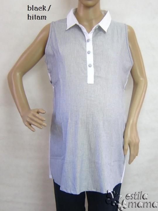 M2360 gb6 baju hamil tnp lgn hitam