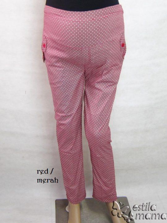 M77161 gb1 celana hamil pjg merah