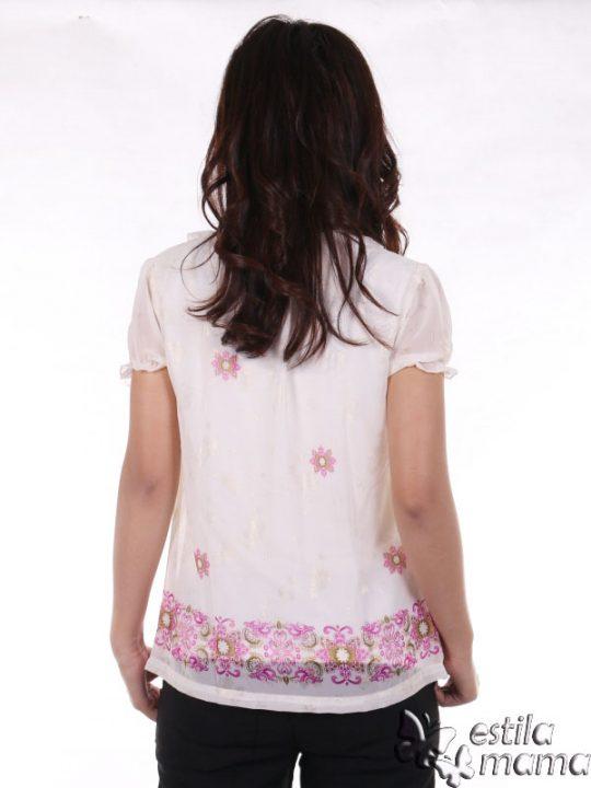 R24126 pink gb4 baju hamil menyusui lgn pdk