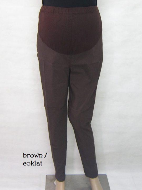 M77162 gb8b celana hamil pjg coklat