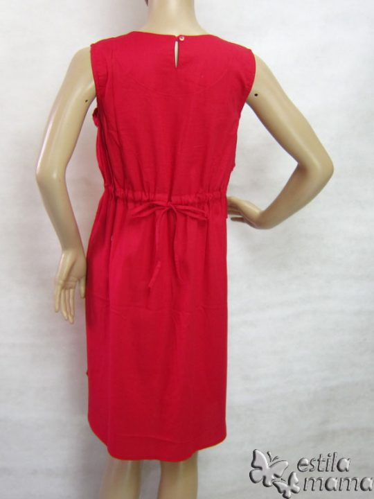 R3317 gb4 dress hamil menyusui tnp lgn merah