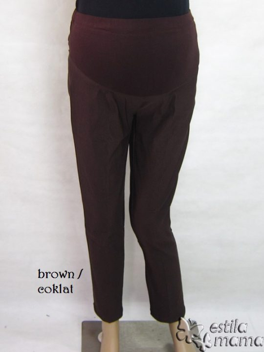 M77166 gb1 celana hamil pjg coklat