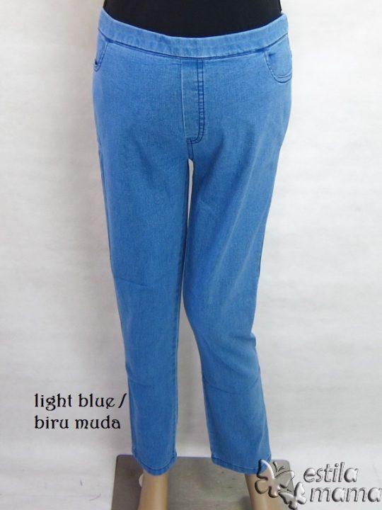 M77169 gb1 celana hamil pjg biru muda