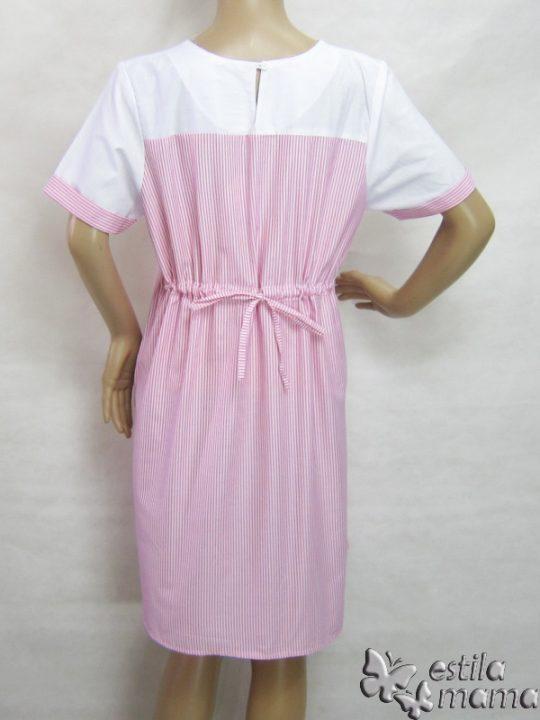 R34183 gb4 dress hamil menyusui lgn pdk pink