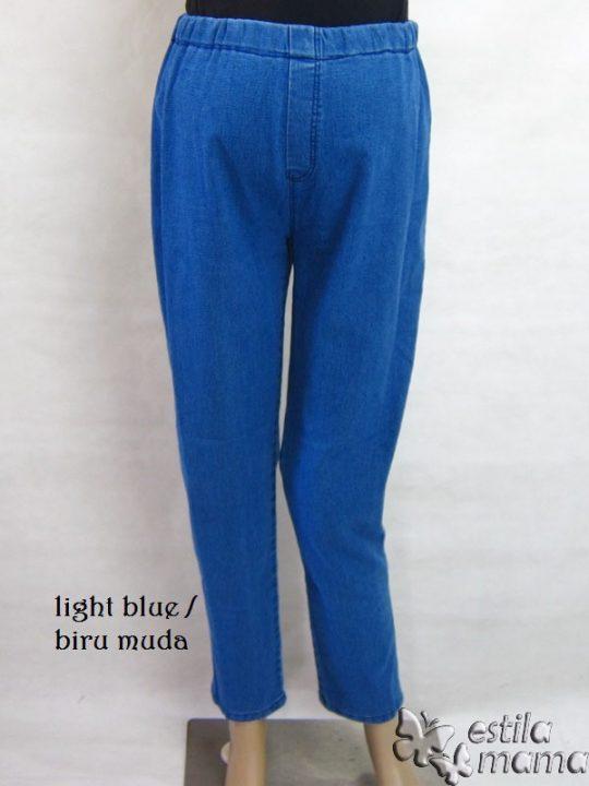 M77131 gb1 celana hamil pjg biru muda